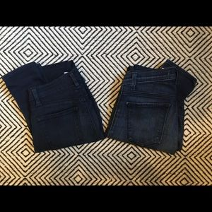2 pairs of J Brand jeans, size 26, Maria style.